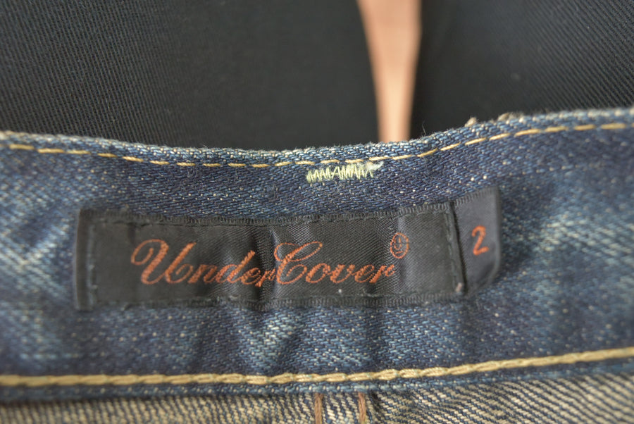 UNDERCOVER / 《Summer Madness》 Embroidery Denim Pants / 7418 - 0417 93.7
