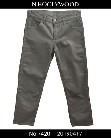 N.hoolywood / Cropped Denim Pants / 7420 - 0417 3