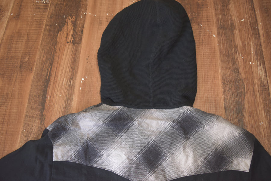 NUMBERNINE / Hooded Nel Cutsew / 7427 - 0417 80.148