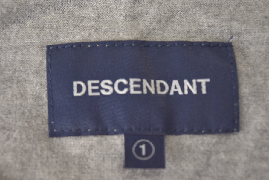 DESCENDANT / Logo Pocket T-shirt / 7432 - 0419 64