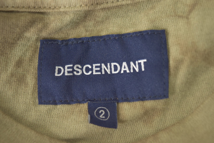 DESCENDANT / Layered Tie Dye Pocket Cutsew / 7437 - 0419 86