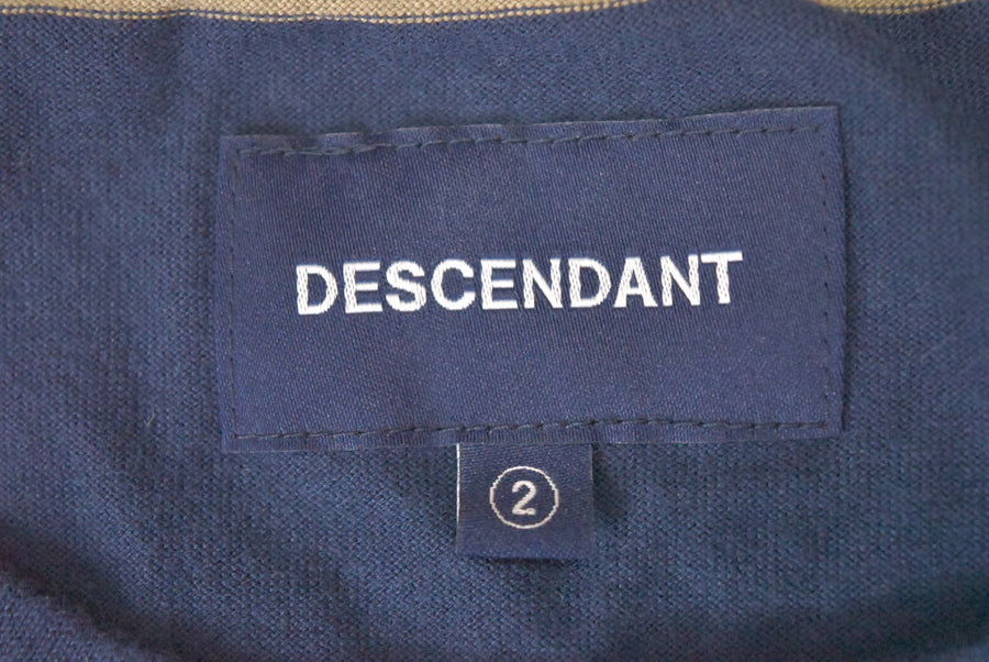 DESCENDANT / Border Logo Pocket T-shirt / 7438 - 0419 113.5