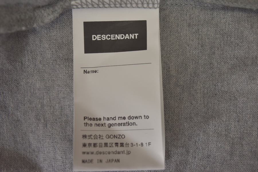 DESCENDANT / Logo Pocket Cutsew / 7440 - 0419 58.5