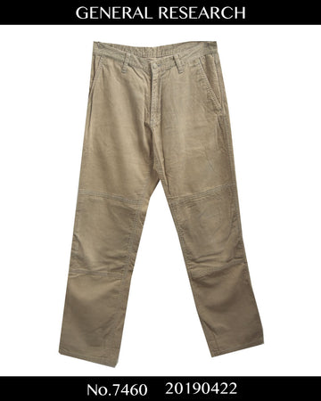 GENERAL RESEARCH / Beigh Corduroy Pants / 7460 - 0422 42