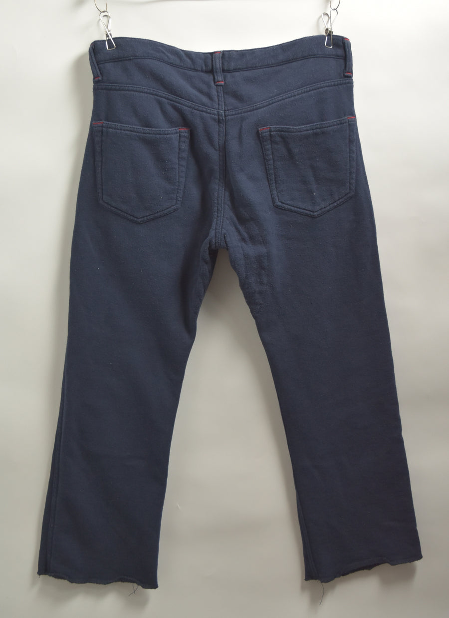 COMME des GARCONS JUNYA WATANABE MAN / Navy Sweat Pants / 7461 - 0422 80.94