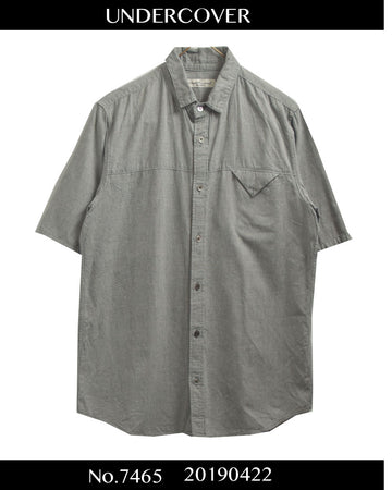 UNDERCOVER / Narrow Collar Shirt / 7465 - 0422 67.564