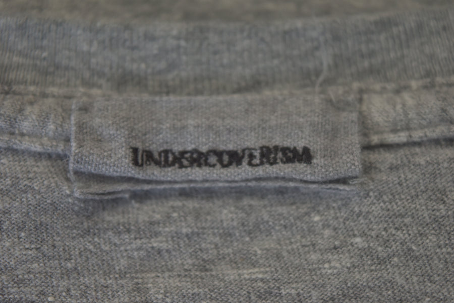 UNDERCOVER / Logo Marbled Color Cutsew / 7466 - 0422 68.4