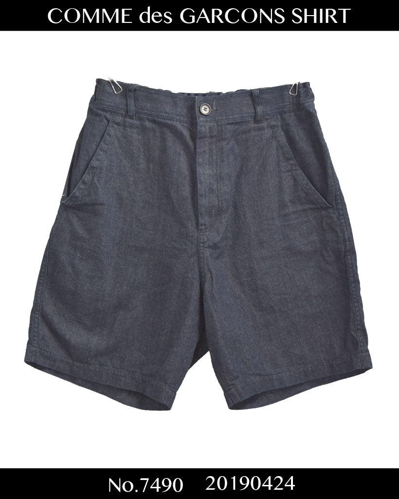 COMME des GARCONS SHIRT / Denim Short Pants / 7490 - 0424 49.26
