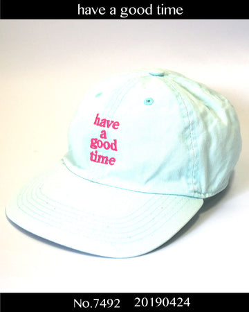 Have a good time / Logo Embroidery Cap / 7492 - 0424 42
