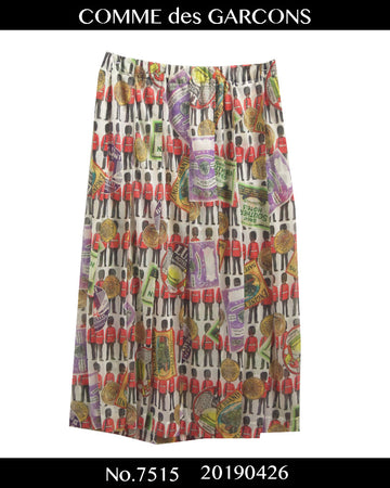 COMME des GARCONS / Great Britain Graphic Skirt / 7515 - 0426 190.5