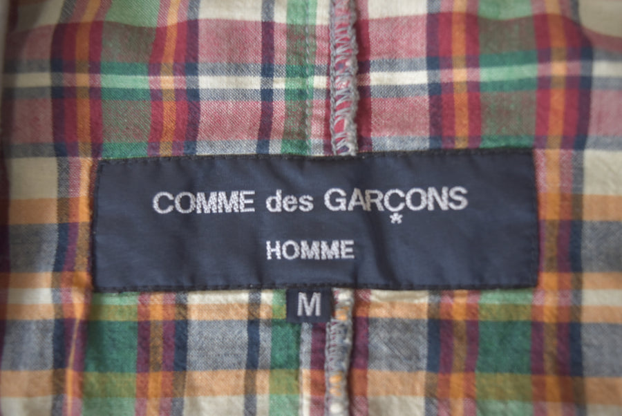COMME des GARCONS HOMME / Patchwork Cutsew Tailored Jacket / 7517 - 0426 90.51
