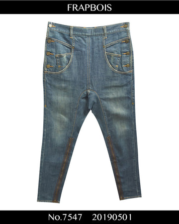 FRAPBOIS / Sarouel Denim Pants / 7547 - 0501 47.5