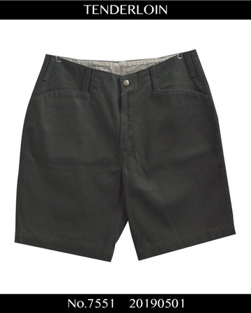 TENDERLOIN / Thick Short Pants / 7551 - 0501 80.5