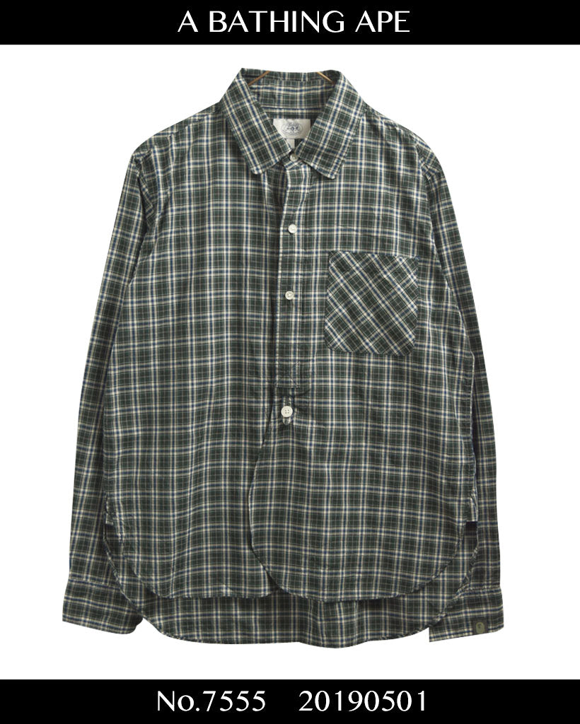 BAPE / 90s Check Shirt / 7555 - 0501 47.5