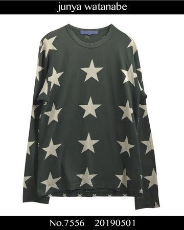 JUNYA WATANABE MAN COMME des GARCONS / Star Graphic T-shirt / 7556 - 0501 69.5
