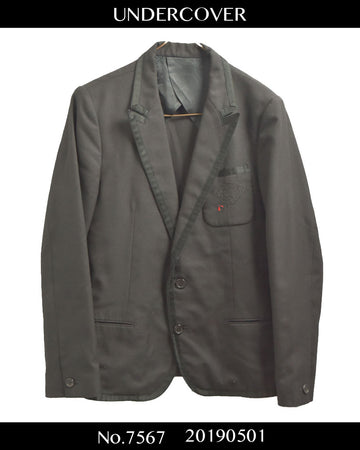 UNDERCOVER / Embroidery Tailored Jacket / 7567 - 0501 93.7