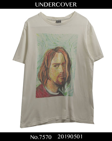 NUMBERNINE / Kurt Cobain Print T-shirt / 7570 - 0501 86.605
