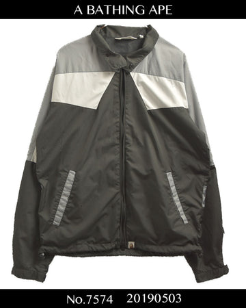 BAPE / Sporty Nylon Blouson Jacket / 7574 - 0503 75