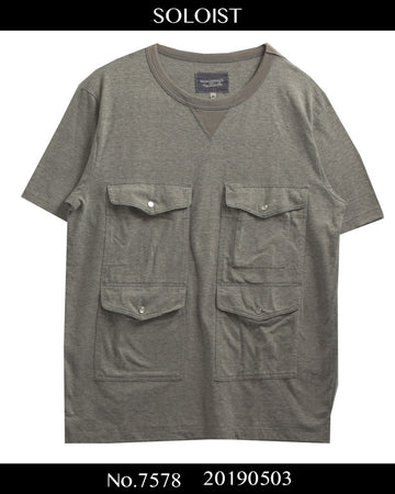 SOLOIST / Double Pocket Cutsew / 7578 - 0503 58.5