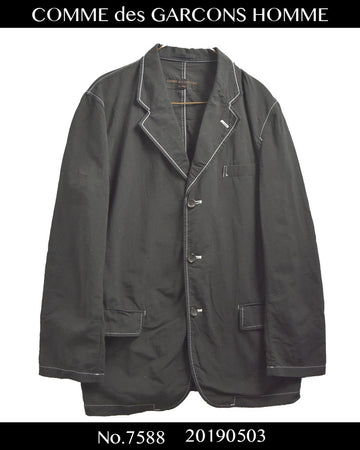 COMME des GARCONS HOMME / Tailored Shirt Jacket / 7588 - 0503 80.5