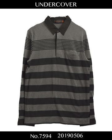 UNDERCOVER / Random Border Polo Shirt / 7594 - 0506 55.2
