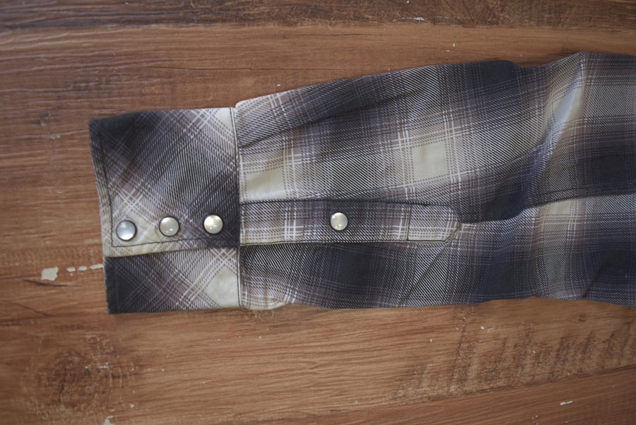NUMBERNINE / Western Check Nel Shirt / 7596 - 0506 61.14