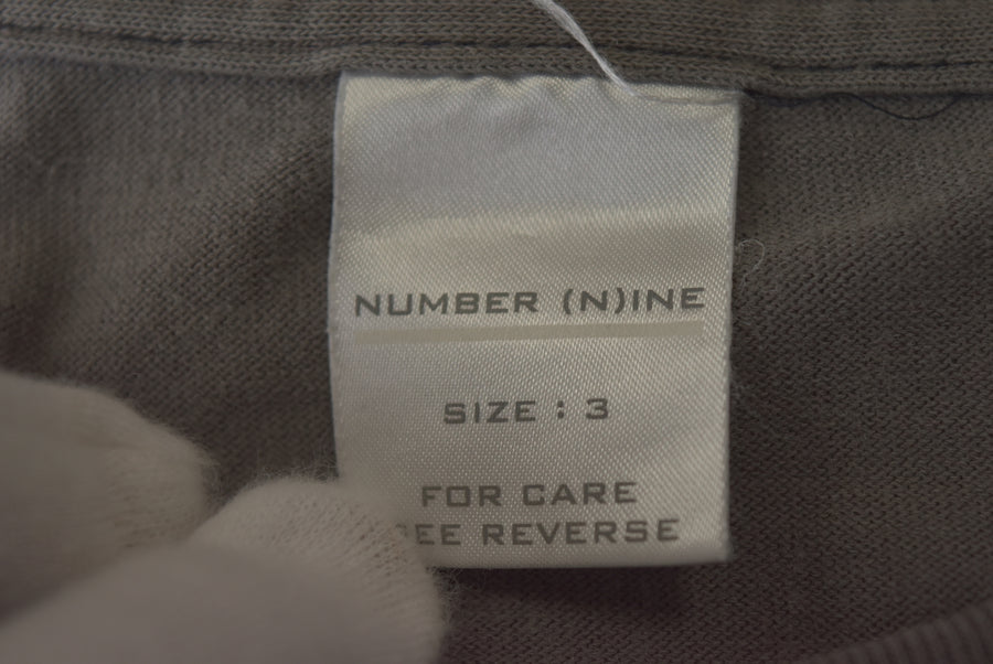 NUMBERNINE / Giovane Knight Graphic Cutsew / 7604 - 0506 65.1