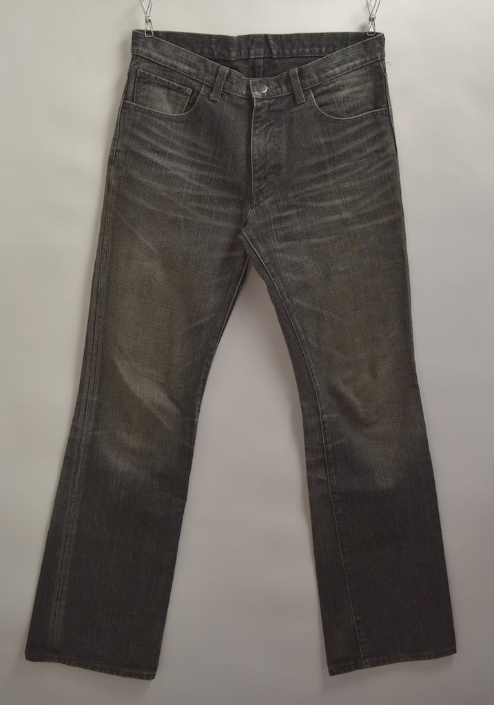 NUMBERNINE / Damaged Denim Pants / 7614 - 0506 64.11