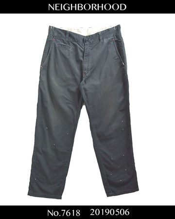 NEIGHBORHOOD / Work Chino Pants / 7618 - 0506 55.794