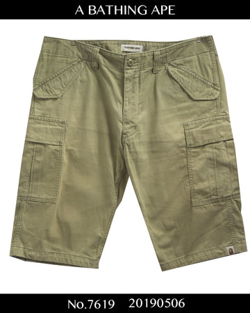 BAPE / Military Cargo Short Pants / 7619 - 0506 58.071