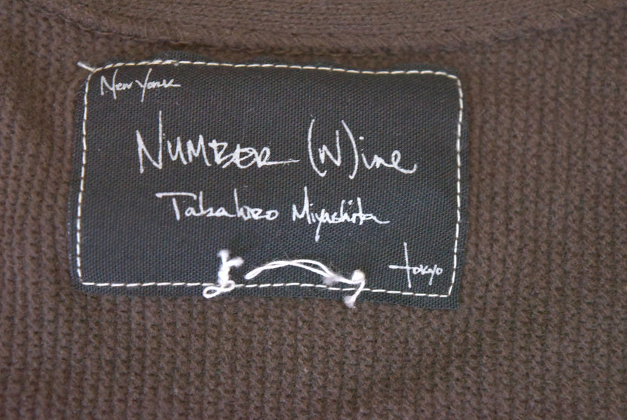 NUMBERNINE / Heart Logo V-neck Cutsew / 7621 - 0506 54.606
