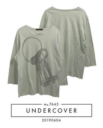 UNDERCOVER / Keyholder Oversize Cutsew / 7645 - 0508 73.9