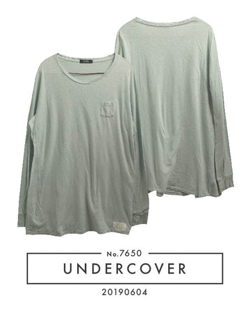 UNDERCOVER / Mini Pocket Cutsew / 7650 - 0508 51.9