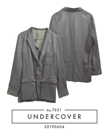 UNDERCOVER / 《 SCAB 》 Rebuild Punk Tailored Jacket / 7651 - 0508 208.826