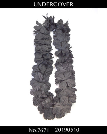 UNDERCOVER / Black Hawaiian Leis / 7671 - 0510 45.3