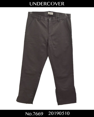 UNDERCOVER / Cotton Slacks Pants / 7676 - 0510 65.1