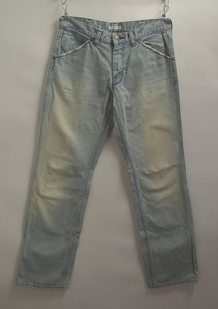 NUMBERNINE / Vintage Denim Pants / 7678 - 0510 56.3