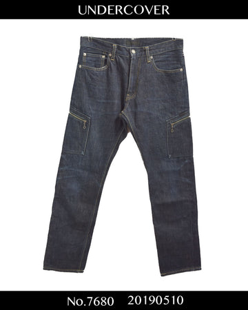 UNDERCOVER / Work Zip Denim Pants / 7680 - 0510 94.8