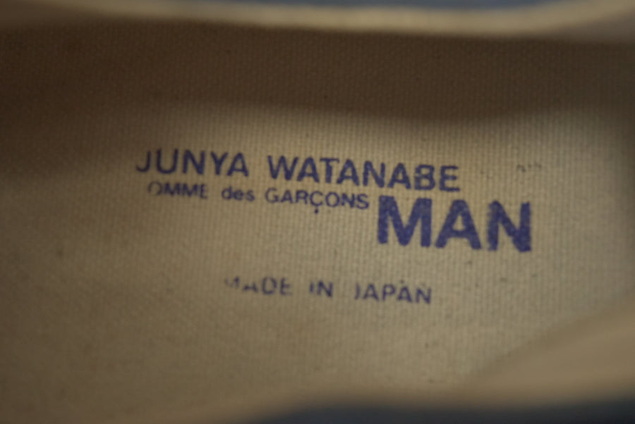 JUNYA WATANABE MAN COMME des GARCONS / Leather Sneaker Shoes / 7683 - 0510 80.5