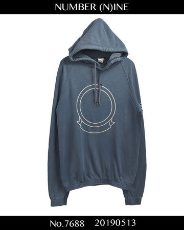 NUMBERNINE / 《 Standard 》 Damaged Sweat Hoodie / 7688 - 0513 134.4