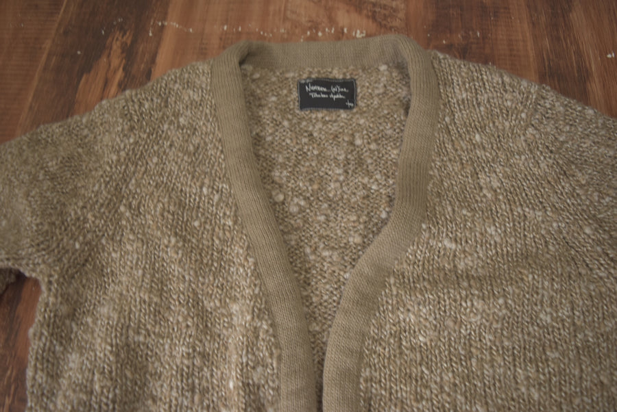 NUMBERNINE / Wrap Nep Yarn Cardigan / 7698 - 0513 97.077