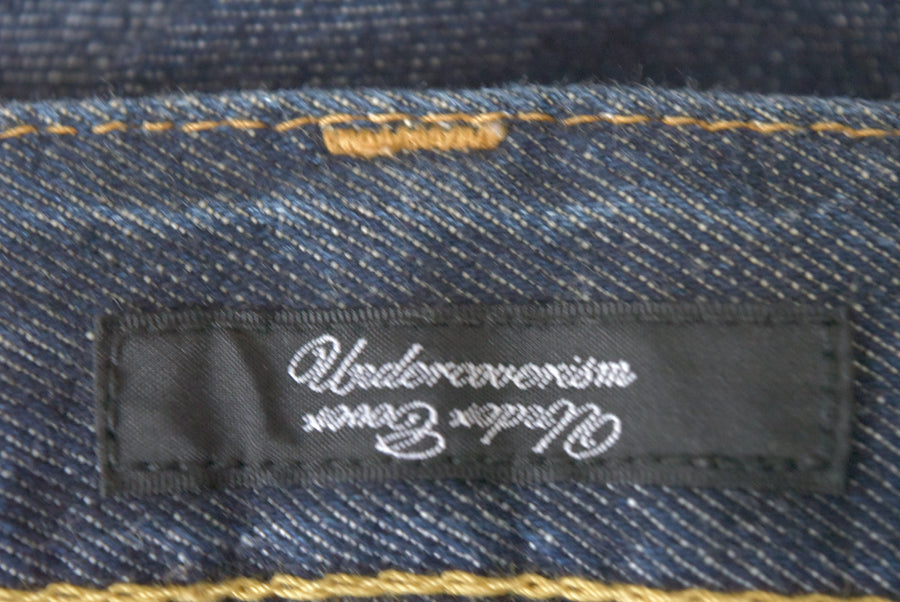 UNDERCOVER / Zip Denim Pants / 7701 - 0513 75.594