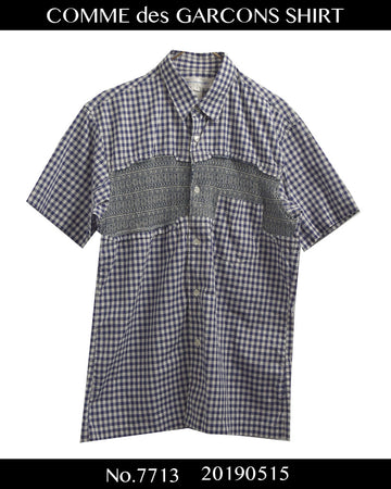 COMME des GARCONS SHIRT / Collage Gingham Check Shirt / 7713 - 0515 68.4