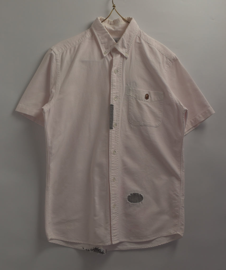 BAPE / Damaged Repair Shirt / 7722 - 0515 57.4