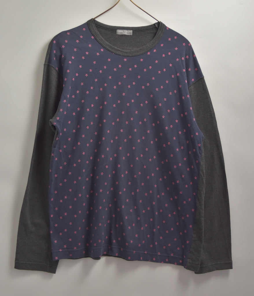 COMME des GARCONS HOMME / Star Graphic Cutsew / 7725 - 0515 53