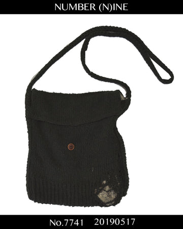 NUMBERNINE / Damaged Kniw Shoulder Bag / 7741 - 0517 71.7