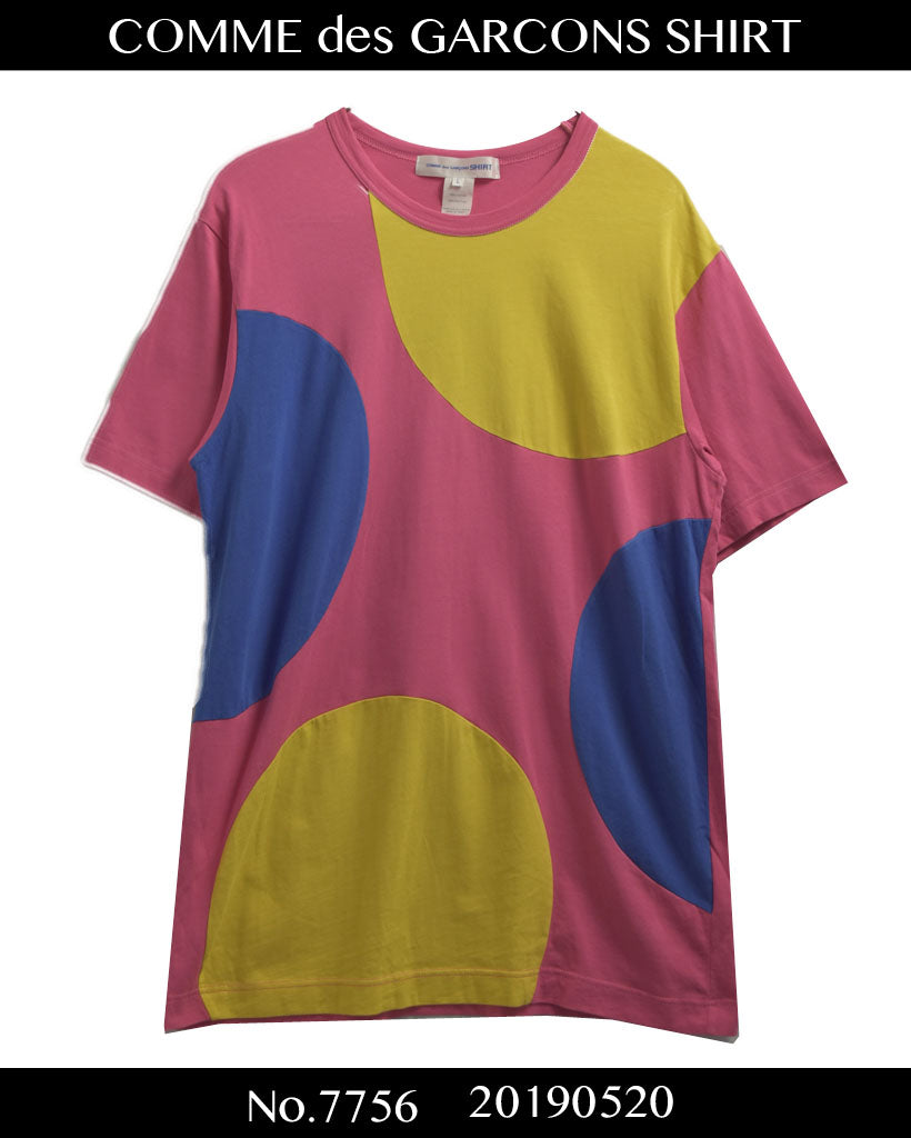 COMME des GARCONS SHIRT / Colorful Big Dot Cutsew / 7756 - 0520 75