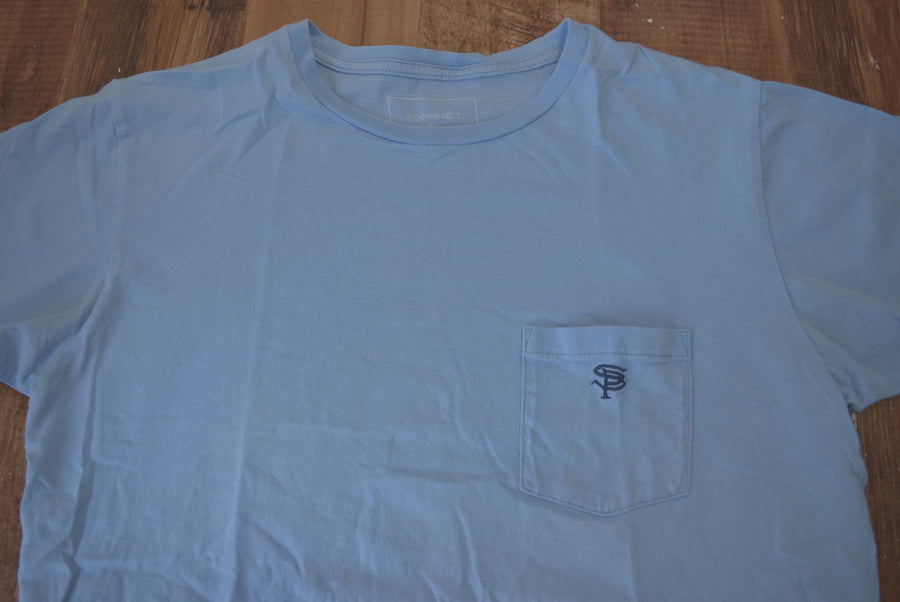 SOPHNET. / Logo Pocket T-shirt / 7768 - 0522 36.5