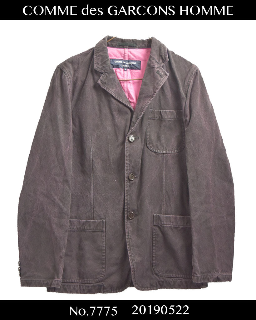 COMME des GARCONS HOMME / Work Tailored Jacket / 7775 - 0522 75