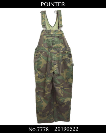 POINTER / Military Camo Overall / 7778 - 0522 47.5